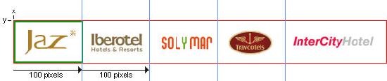 Пример CSS спрайтов