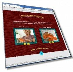 Шаблон: Шаблон сайта по вязанию: HTML, CSS, 7 страниц