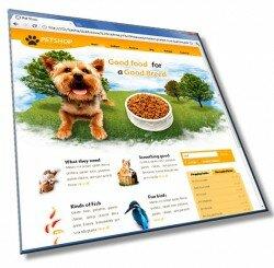 Шаблон: Шаблон сайта о животных: HTML, CSS, 6 страниц